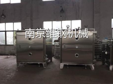 江西某藥業集團公司兩臺48盤中藥浸膏干燥箱FAT完畢